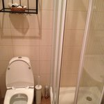 Box do chuveiro - quase impossível usar