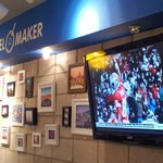 WATCH SUPER BOWL AT CAFE TRAVEL MAKER  MONDAY FEB 3RD 8AM