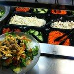 The Salad Bar at The Buffet