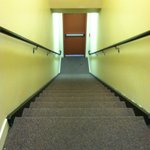long stairs to room