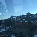 View from the hotel gondolier which runs down to Northstar Village all day. It finished around 9