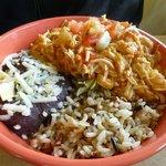 Seafood combo bowl