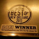 2013 Best Of Award
