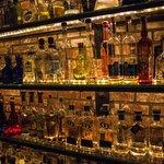 Mucho bottles of tequila