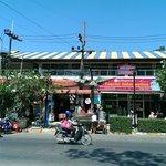 Shops in front of Phra Nang Inn