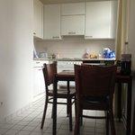Cocina/comedor en la habitación