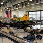 Lyon Air Museum Floor Exibits