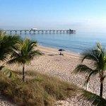 Windjamner Resort beach view.