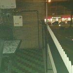 Balcón y McDonalds