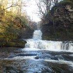 waterfalls walk. forgot my camera, phone pic!