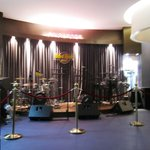 Bands play at the lobby on the weekend
