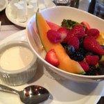 my muesli and fresh fruit bowl