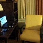 Well appointed room and fast internet