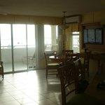 Breakfast area, balcony