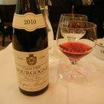 House Burgundy at Brasserie Lipp