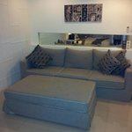 Big comfy lounge area