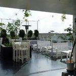 salle à manger en terrasse