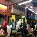 Mindblowing cafe at Mercado Central