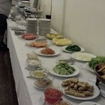 Breakfast at Siem Reap Evergreen Hotel