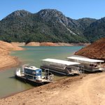 lake shasta- taking a boat to the caverns
