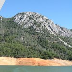 lake shasta- the caverns are up there on the other side