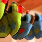 Hand made baby shoes