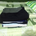 My 2kg of dirty washing ......washed & ironed  for 7 Soles ...bargain....Bothy Backpackers Hoste