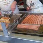 Mercato di Friburgo - I salsiccioni I