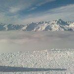 Pinzolo - foto da cellulare dal Rifugio e dalla Sommità del Doss del Sabion (2100 mslm), sabato