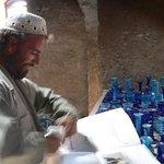 Workshop of famous blue glass inside Herat Citadel