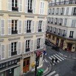Vista dalla Camera su Rue La Bruyere