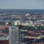 Прекрасные виды на зеленый Стокгольм