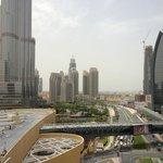 room view 9th floor of the burj khalifa