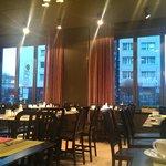 The restaurant downstairs loppy. Breakfast/dine