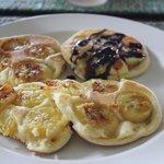 Pancake bananes