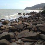Beautiful rocks in Teluk Cempedak