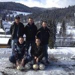 Het team voor Hotel Grossbach