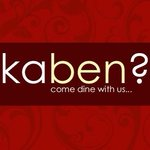 Kaben? Come dine with us...
