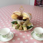 Afternoon tea £12.40 for two