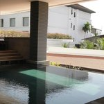 Main pool shade as well as full sun