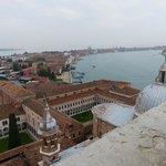Vue du haut du cmapanile de San Giogio Maggiore