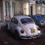 Cool Beetle outside.