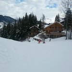Chalet Dahu from the piste