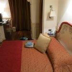 "View of my ""single room"" from the door"