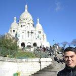 Sacré-Coeur - próximo ao Hotel Bellevue