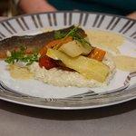 Le repas poisson du repas gastronomique