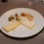 Le plateau fromage du repas gastronomique