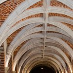 Le couloir avec cette architecture restaurée