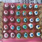 Minicupcakes et cookies