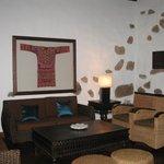 tastefully decorated lounge